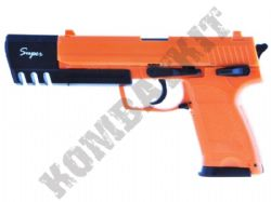 HA112L Airsoft BB Gun Black and Orange
